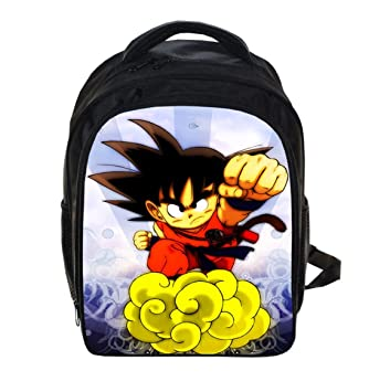 Japón Anime Dragon Ball Z mochila Cosplay Dragon Ball Super Son Goku mochila mochila: Amazon.es: Informática