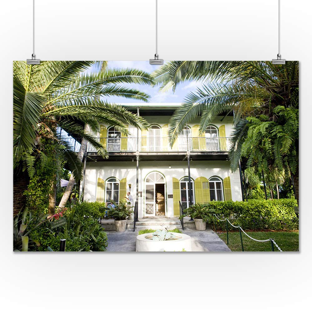 Amazon com: Key West, Florida - Hemingway House - Photography A