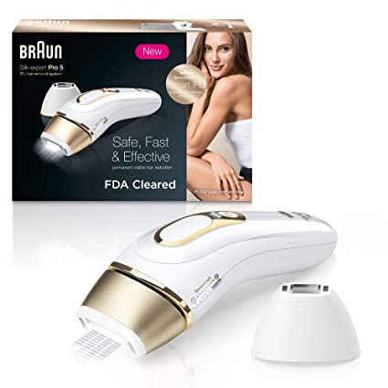 Amazon Com Braun Ipl Hair Removal For Women Silk Expert Pro 5