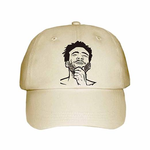 7c8404b0823 Amazon.com  Childish Gambino Donald Glover Cap Hat (Unisex) (Khaki ...