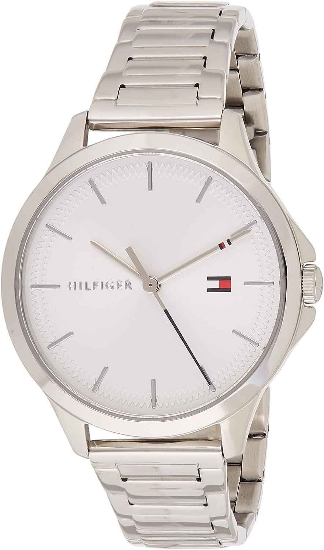 Tommy Hilfiger Reloj Analógico para Mujer de Cuarzo con Correa en Acero Inoxidable 1782085