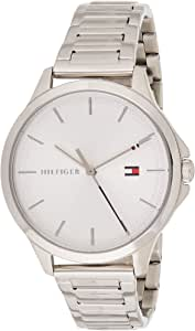 Tommy Hilfiger Women'S Silver White Dial Stainless Steel Watch - 1782085