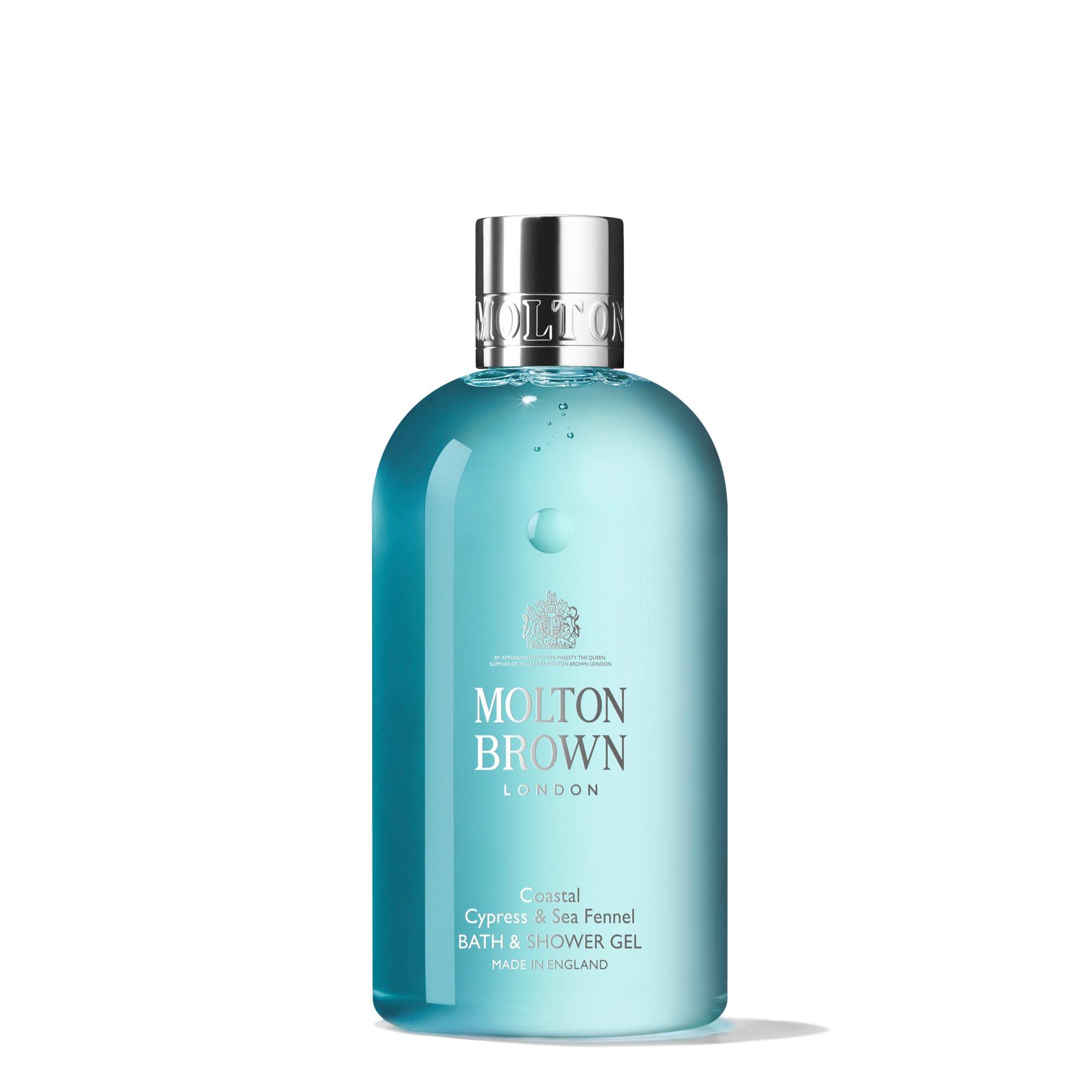 Molton Brown Coastal Cypress, Sea Fennel Bath and Shower Gel, 300ml