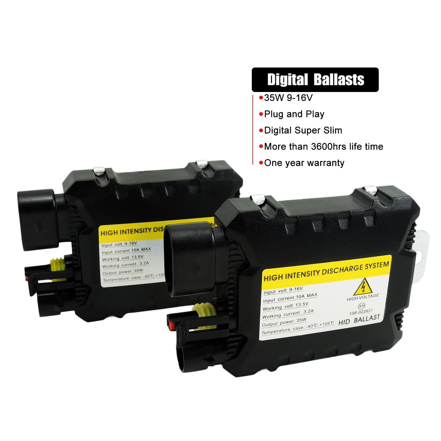 35w Wireless Hid Xenon Dc Ballast Discharge System For H1 H3 H7 H8 Ballasted Ignition Coilconsider This Circuit To Be Powered By A H13 H4 9005 Lighting Electrical Amazon Canada