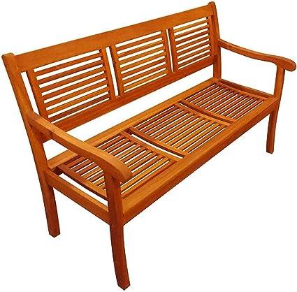Sam 3 Sitzer Gartenbank Cordoba 150 Cm Akazie Holz Bank Amazon De Garten
