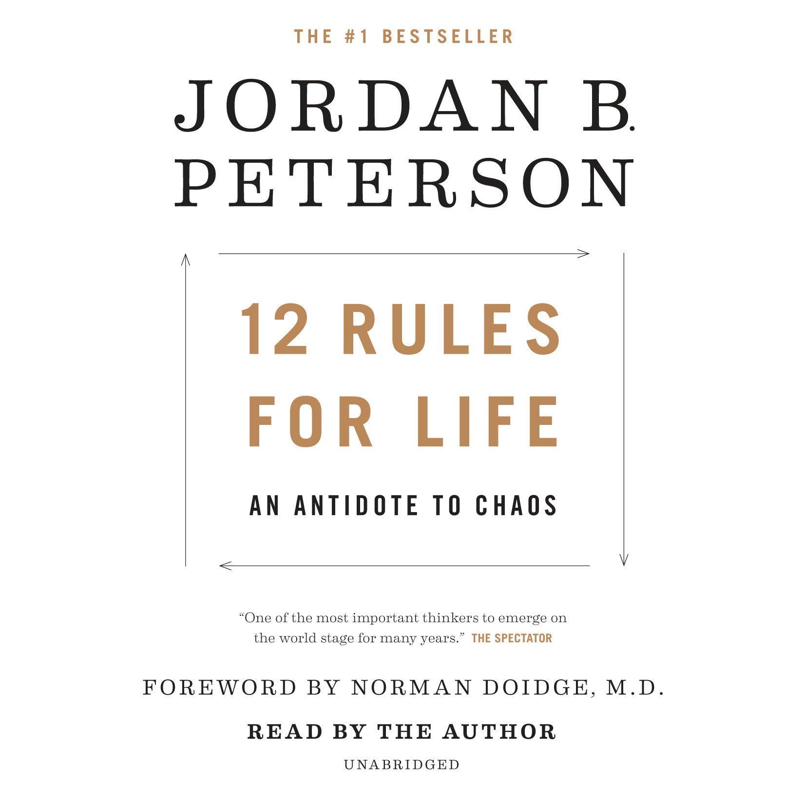 sprzedawca hurtowy nieźle kup dobrze 12 Rules for Life: An Antidote to Chaos: Jordan B. Peterson ...
