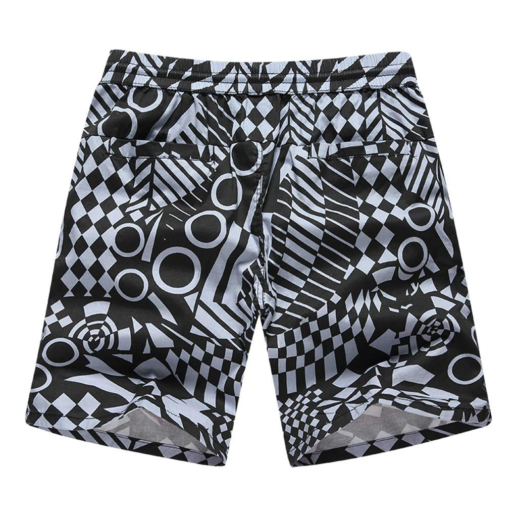 Sports Pants Gym Cargo Beach Shorts Fashion Men Casual Wide Printed Beach Casual Men Short Trouser Shorts Pants