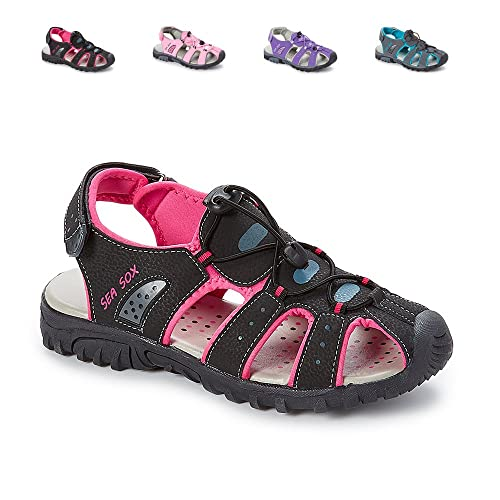 85b9980b4d7b Sea Sox Ladies Womens Waterproof Hiking Sport Closed Toe Athletic Sandals   Amazon.ca  Shoes   Handbags