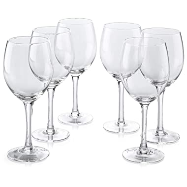 Classic Premium All-Purpose Clear Wine Glasses (14 Ounce) Set Of 6
