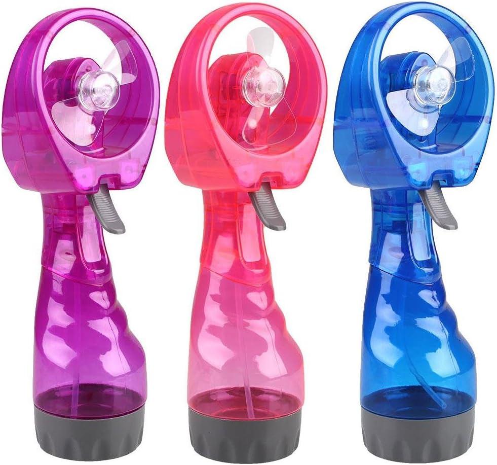 Kicode Mini Cooling Fan Portable Water Spray Portable Water Spray Hand Held Spray Water Mist Sport Travel Beach Camp Fas