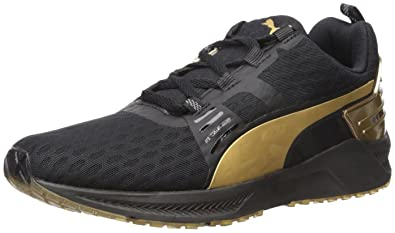 4590a2708ddd48 PUMA Women s Ignite xt v2 Gold WNS Cross-Trainer Shoe Black