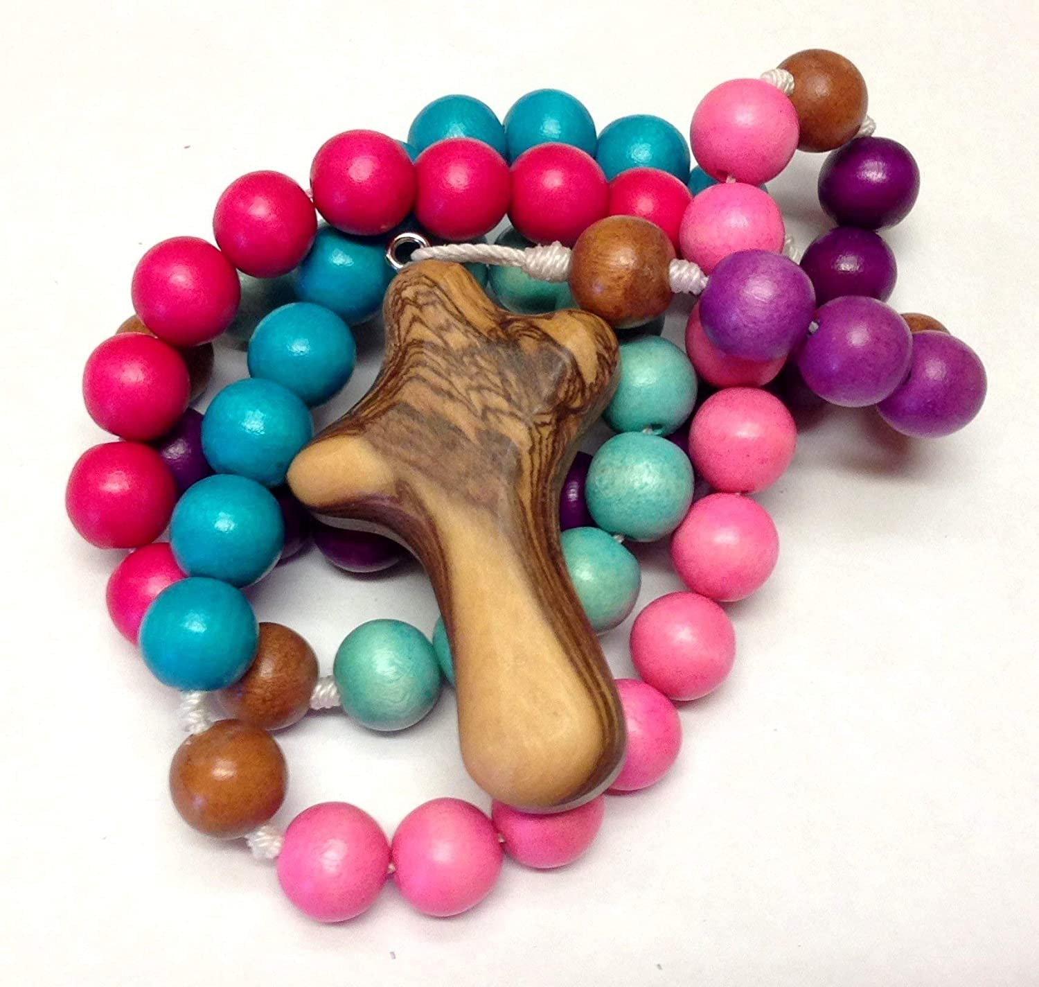 Child's Rosary in Bold Girl Colors