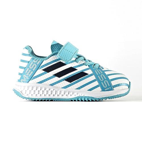 adidas Rapidaturf Messi El I, Zapatillas de Estar por casa Bebé Unisex, (Aquene/Negbas/Tinley), 23 EU: Amazon.es: Zapatos y complementos