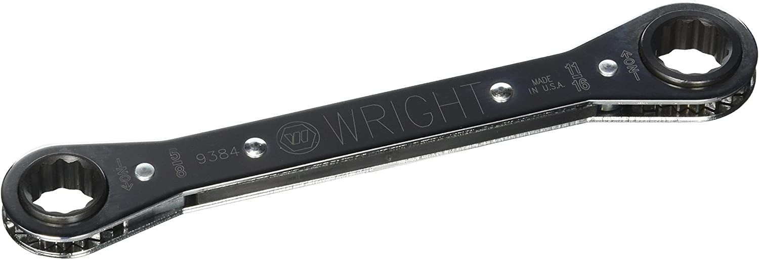 Wright Tool 9386 12 Point Nominal Size Ratcheting Box Wrench 3//4 x 7//8 3//4 x 7//8