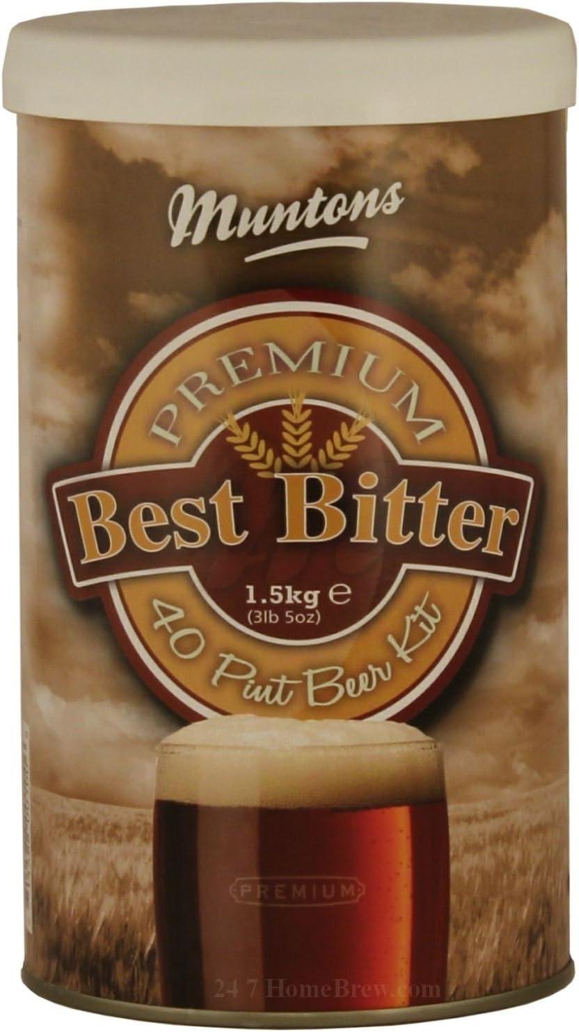 Kit de cerveza MUNTONS premium amargo 1.5 kg