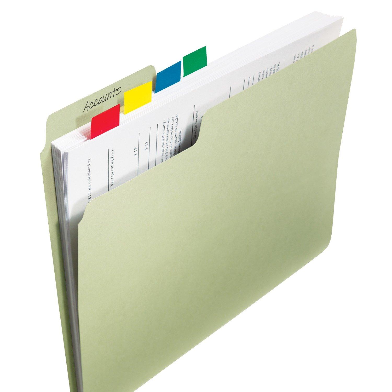 Post-It 680-3 Marcador index 25.4 x 43.1 mm verde
