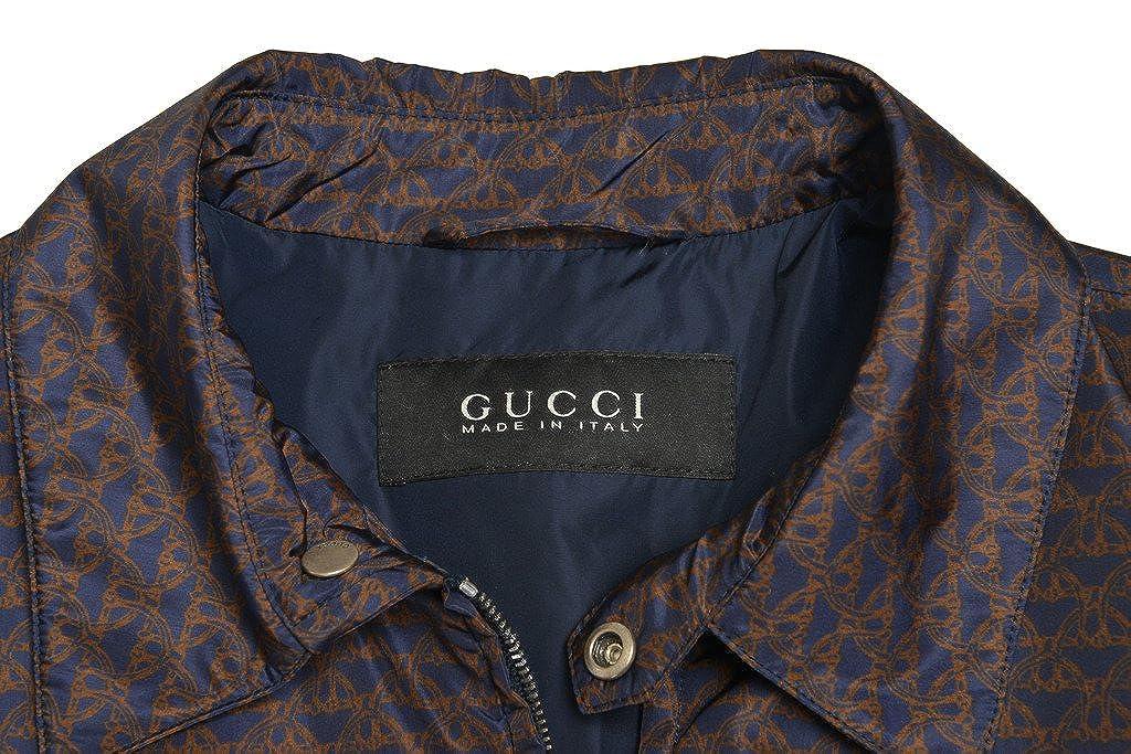 Amazon.com: Gucci Hombre Multicolor chamarra con cierre ...