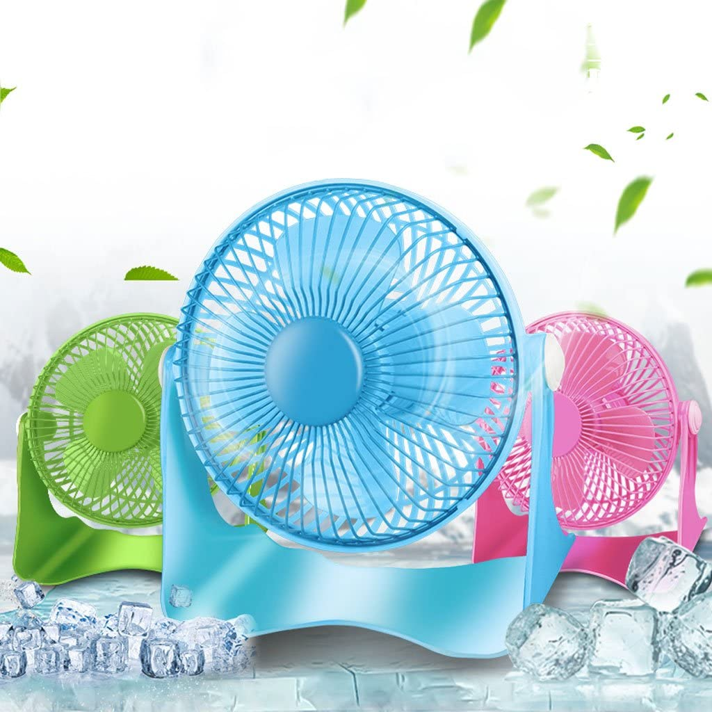Plug and Play Outdoor Travel Home Fan Home Cooling Fans Energy Saving Fan Fans USB 6 Inch Fan Low Noise Mute Mini Desktop Mute Office Desktop Computer Cooling Student Dormitory Bed Fan Soft Wind