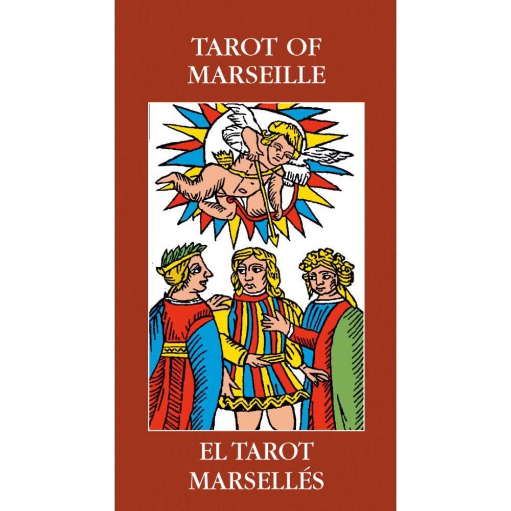 Tarot of Marseille, Mazo de 78 cartas con Instrucciones ...
