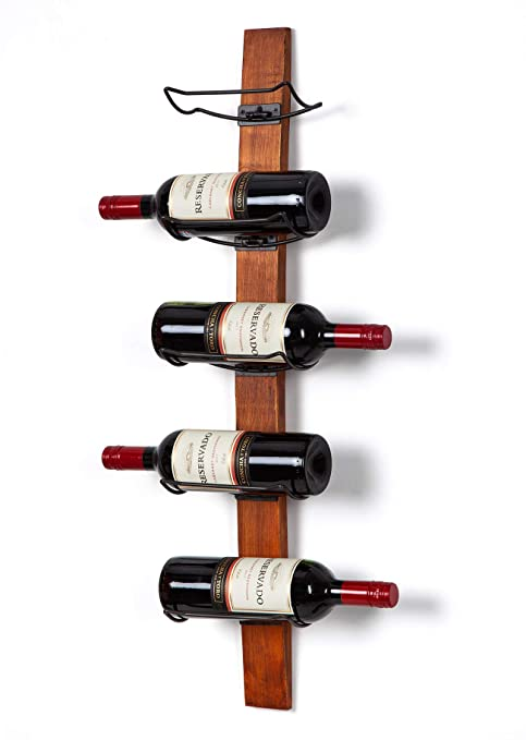 Amazoncom Soduku Wall Mounted Wine Rack Wine Bottle Holder Towel