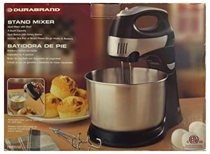 Amazon.com: Stand Mixer and Detachable Hand Held Mixer 4 ...