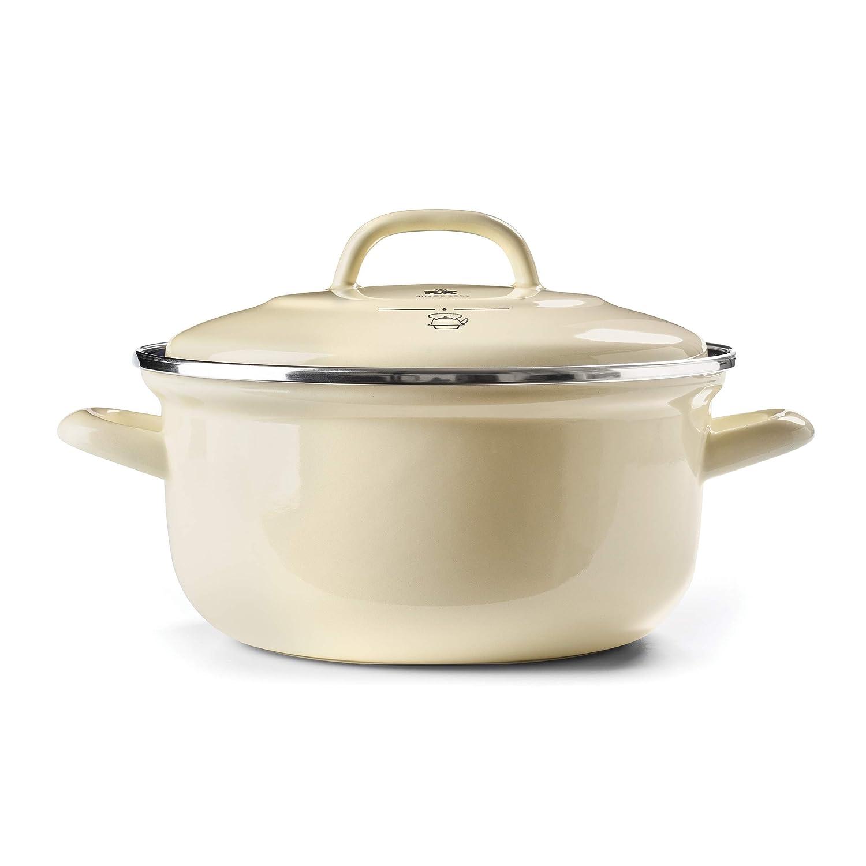BK Cookware CC002469-001 Dutch Oven Cream 5.5QT