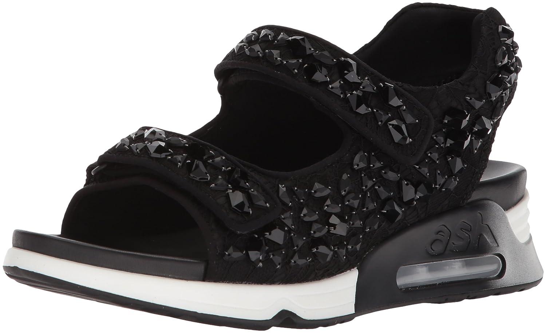 Ash Women's AS-Lulla Stones Sneaker B073JY8P2V 36 M EU (6 US)|Black/Black