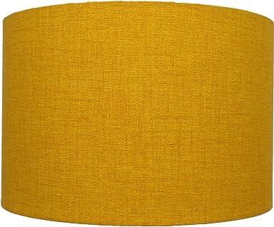 35 6 Cm Moutarde Jaune Dore Lin Style Abat Jour Plafonnier Lampe De
