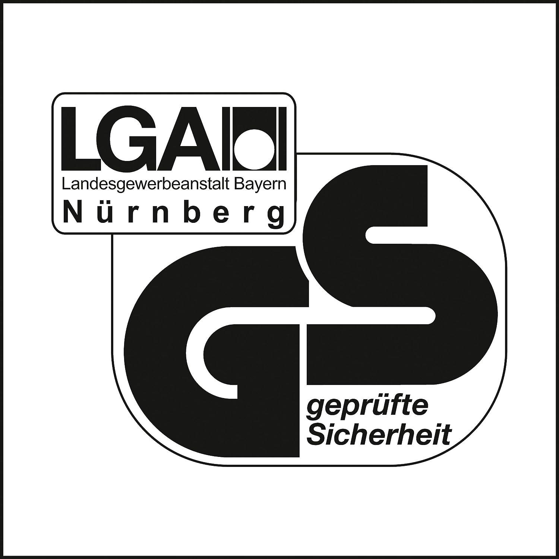 GS-Logo geprüfte Sicherheit