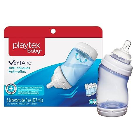 Amazon.com: Playtex Ventaire Ventaire avanzado – Azul – 6 oz ...