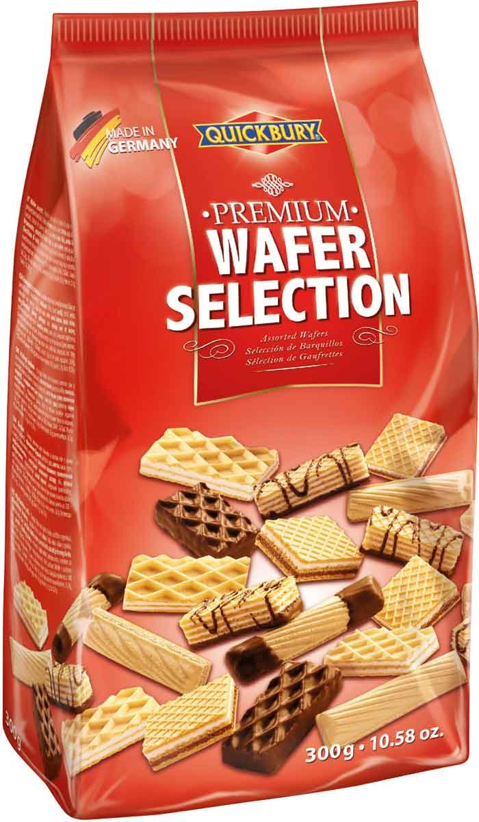 Quickbury Premium Wafer Selection, 10.58 Ounce (Pack of 10)
