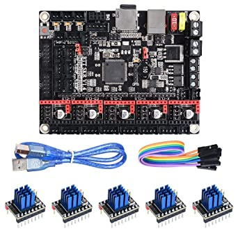 BIGTREETECH SKR V1.4 Turbo 32 bits Panel controlador placa para ...