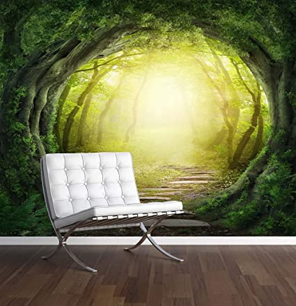Enchanted Forest Wall Mural Photo Wallpaper Magic Fantasy World Trees X Large 1900mm X 1488mm