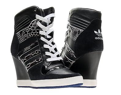 Adidas Originals Rivalry Wedge Womens Shoes D65198 Black 6 M