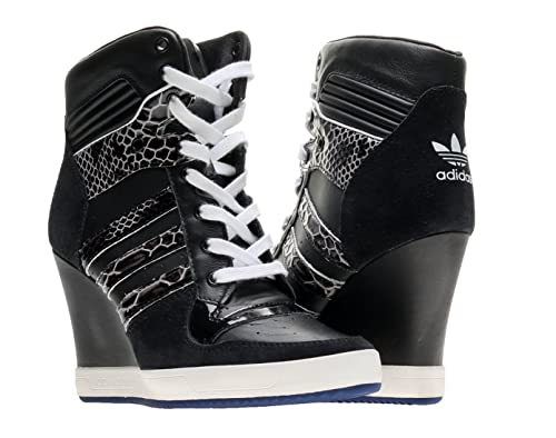 25bf3d90 Adidas Originals Rivalry Wedge Womens Shoes D65198 Black 6 M US ...