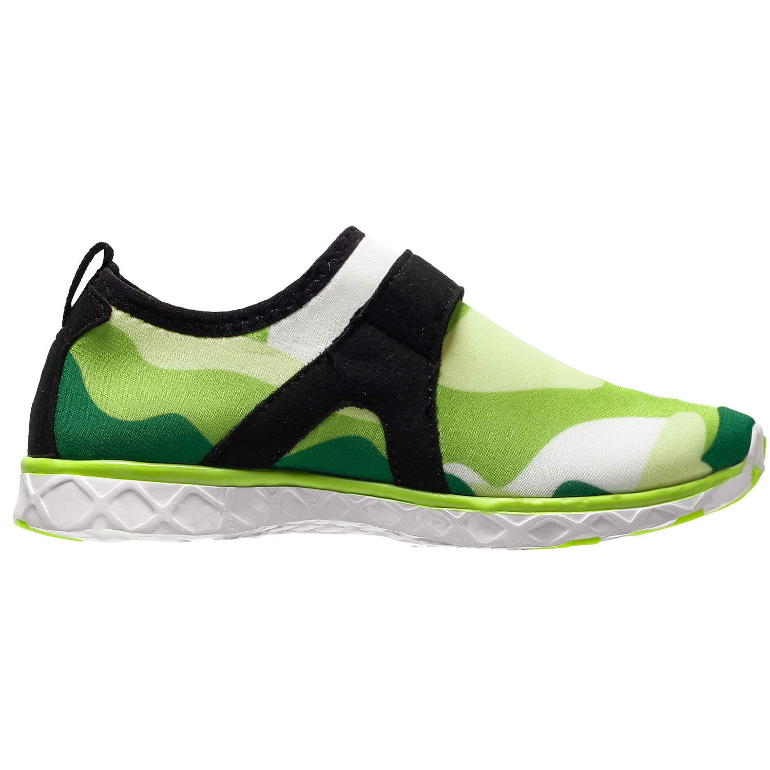 AMAWEI Boys Girls Water Shoes for Kids,Lightweight Comfort Sole Sports Shoes,Slip-on Quick Dry Aqua Athletic Sneakers Swim Beach Shoes