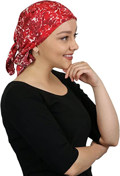 Foiled Solid Tichels Women/'s Square  Hair Cover Hair Loss Head Wrap Hijab Scarf, Alopecia Hair Kerchief Chemo Cap Cancer Headwear