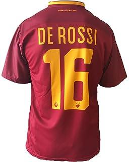 AS Roma Maglia De Rossi ufficiale 2018 Ufficiale stagione 2017/2018 ...