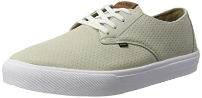 Globe Motley Lyt Shoes in Perf Sand White UK 10