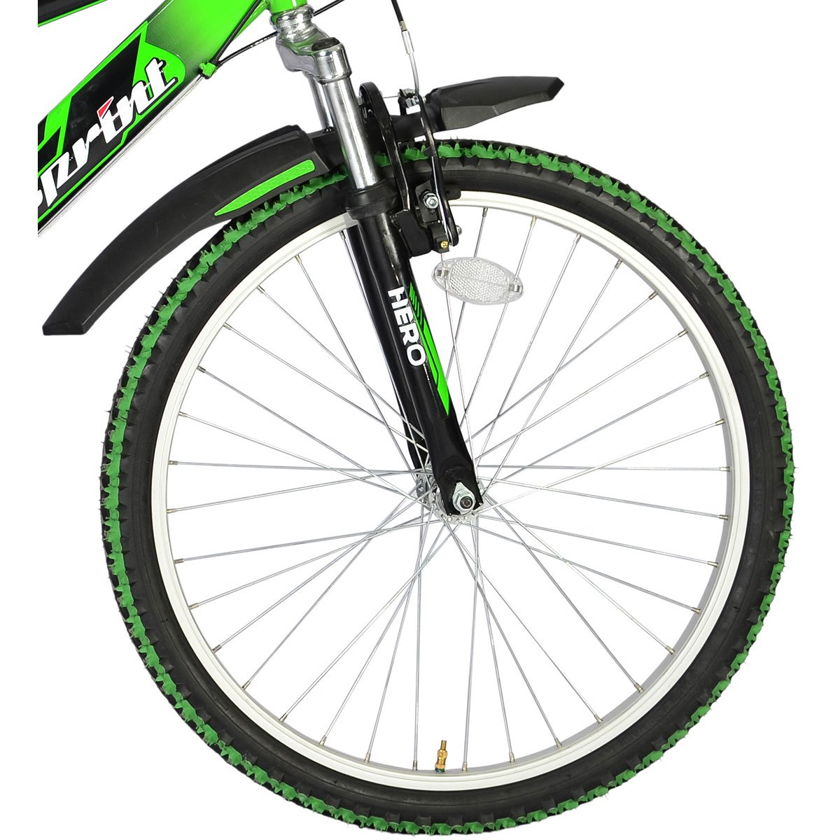 Buy Hero Sprint Next 24t 18 Speed Mountain Cycle Green Black M Y Bracelet Mtb 397 Online At Low Prices In India