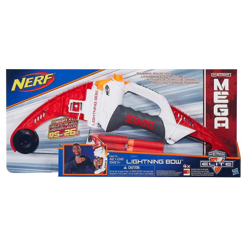 NERF N-Strike Elite Mega Lightning Bow ナーフ N-ストライクエリートメガライトニングボウ [並行輸入品]   B01A3MUDYM