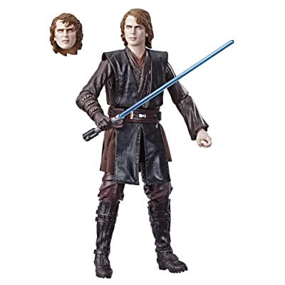 "Star Wars The Black Series Archive Anakin Skywalker 6"" Scale Figure: Toys & Games"