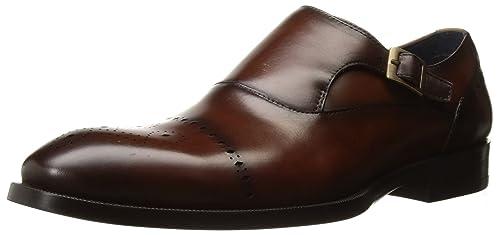 7987c771d82 Steve Madden Men s Caige Oxford Tan Leather 7.5 UK US Size Conversion ...