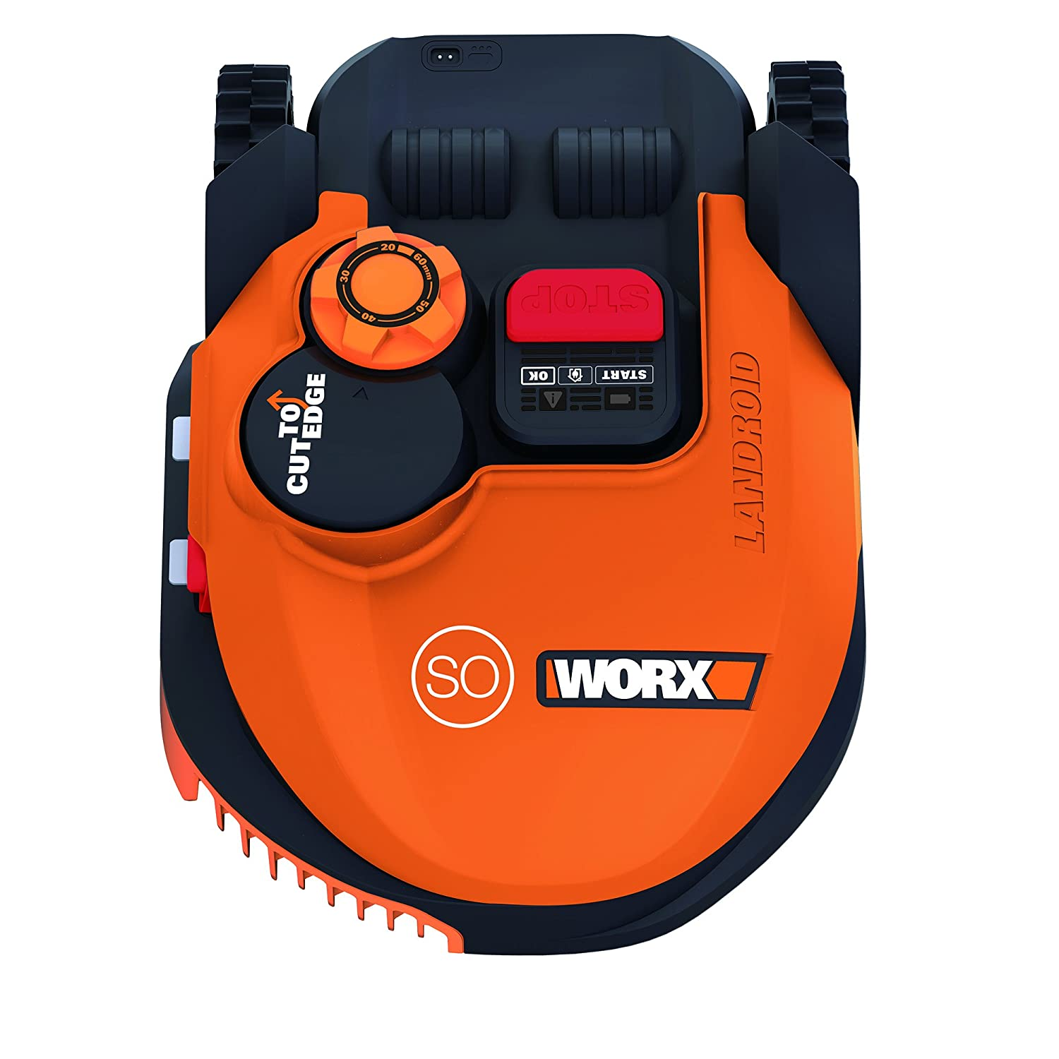 Worx WR101SI.1 - Robot Cortacésped Landroid S 450 WIFI