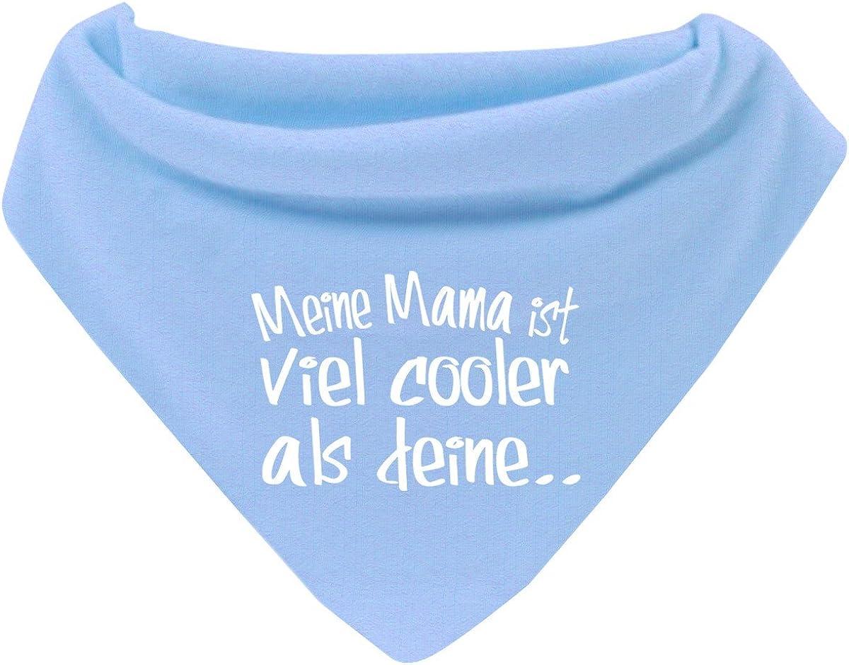 Mikalino Baby Halstuch Bandana Meine Mama ist viel cooler als deine