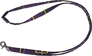 product image for Break-A-Way Lanyard by Stephanie Dawn, Made in USA, Plastic Safety Clasp, Cotton Fabric, Fashion Accessory for Women, Use for Keys, Key Chain, Bags, ID Badges, Metal Swivel Clasp