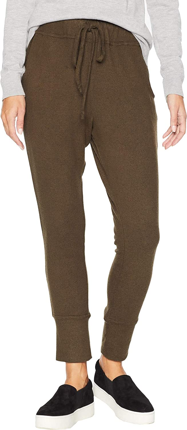 B Collection by Bobeau Women's Brushed Jogger Pants Military Olive XSmall 30 30