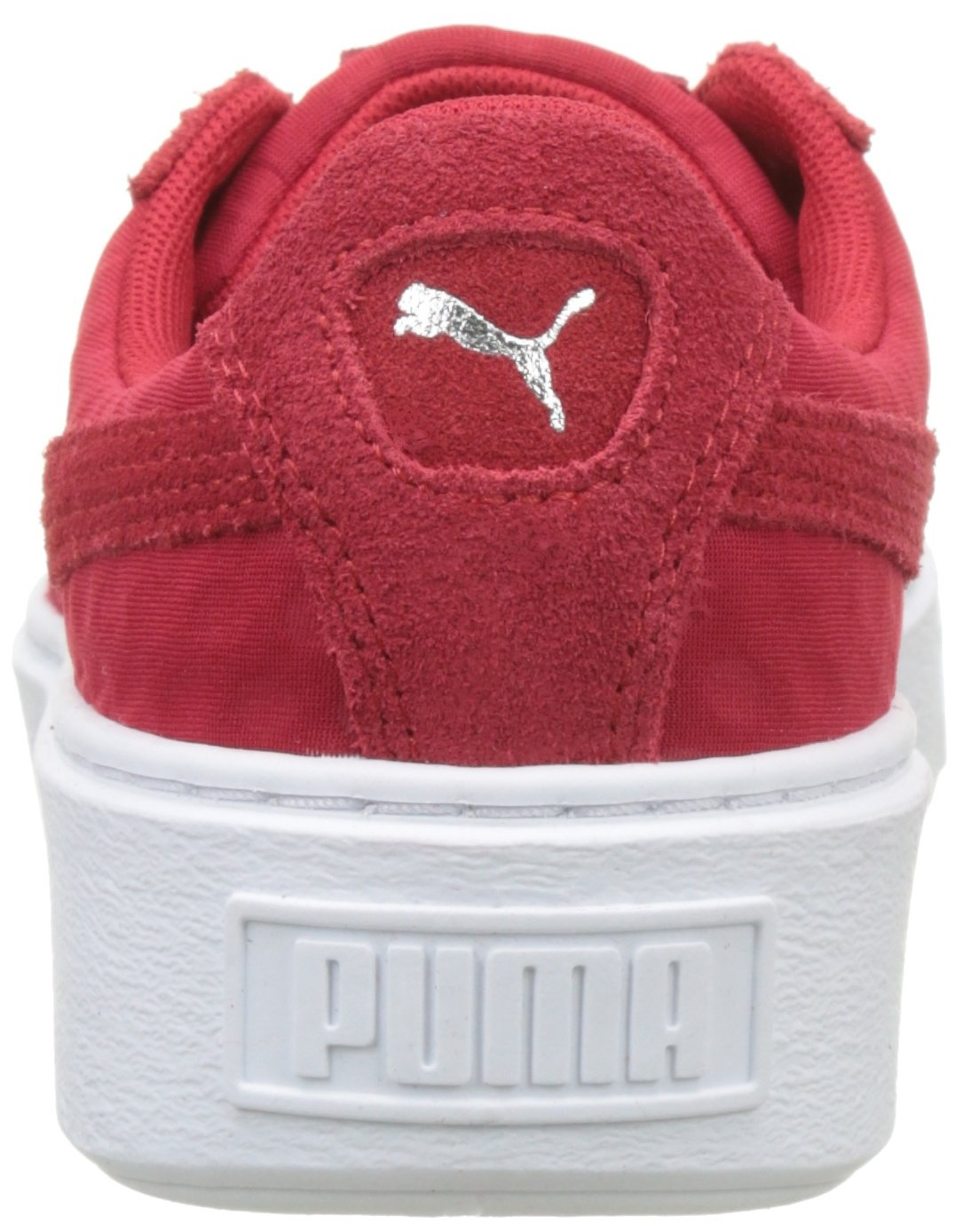 be87ea22706 PUMA Basket Platform DE WNS Shoes Women Red  Amazon.com.au  Fashion