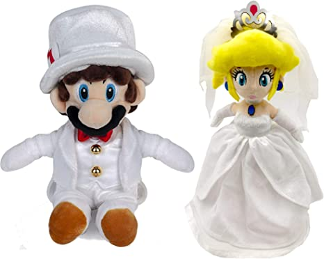 Super Mario Odyssey OD04 Mario /& Peach Wedding Set NEW from Japan