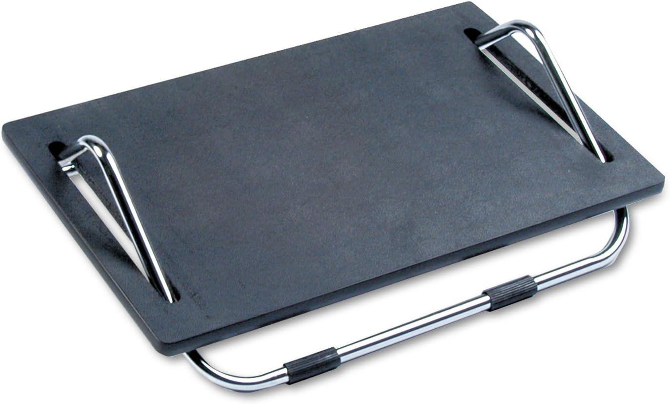 Safco 2105 – Ergo-Comfort Adjustable Footrest, 18-1 2w x 11-1 2d x 5h, Black